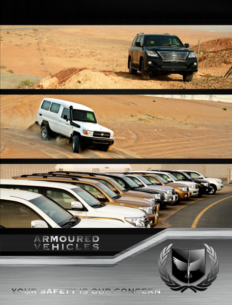 about us armoured vehicles dubai UAE and world wide.